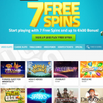 20 SIGN UP FREE SPINS AT LUCKY DINO