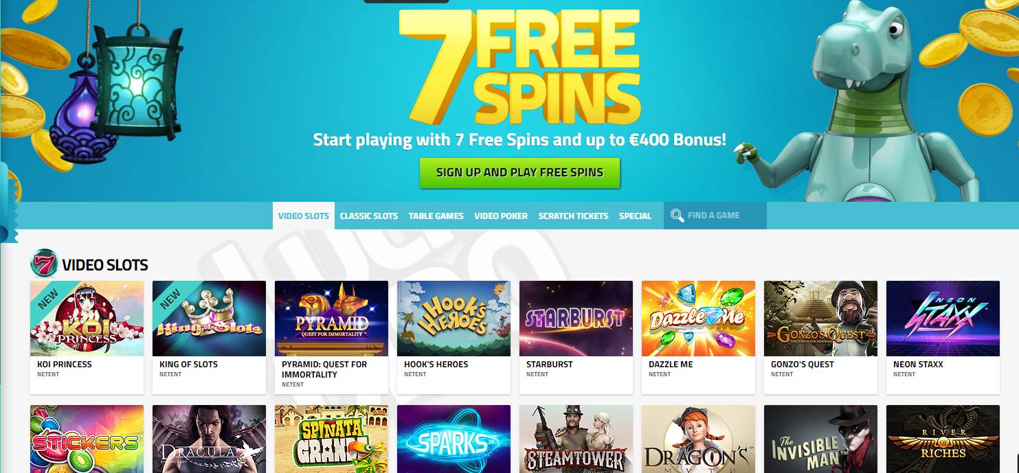 lucky dino free spins offer