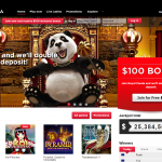 140 FREE SPINS AT ROYAL PANDA