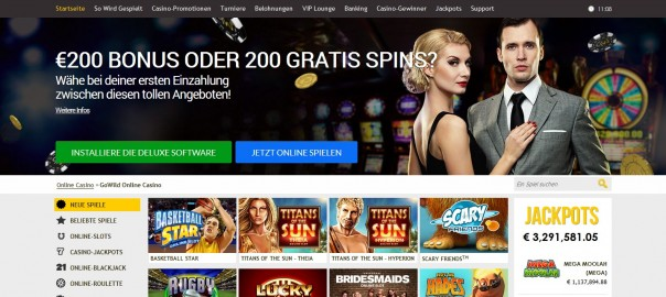 66 Freespins Nodeposit From Gowildcasino Yes Casino Bonus