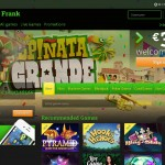 Slots promo at PlayFrank