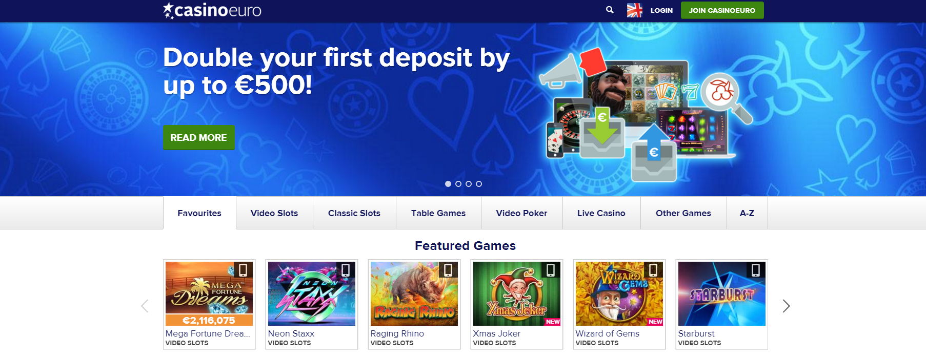 welcome bonus casinoeuro
