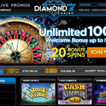 DIAMNOND7 CASINO'S DAILY BONUSES