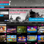 DOUBLE FREE SPINS WITH EVERY DEPOSIT AT FREESPINSCASINO