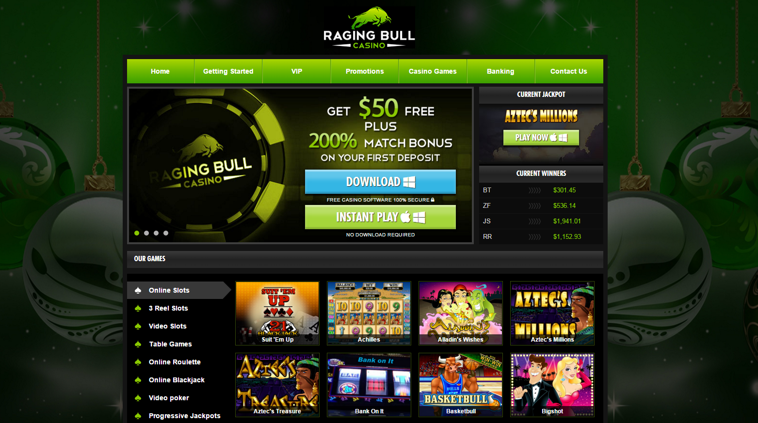 raging bull casino mobile app