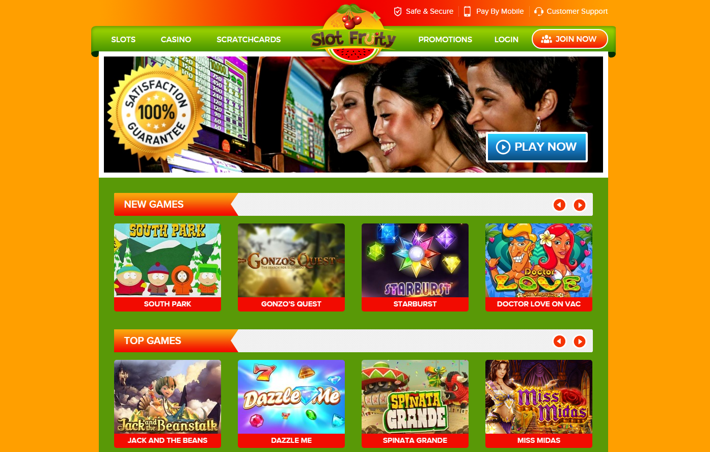 daily free spins slotfruity casino