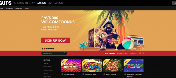 guts casino double deal Monday promo