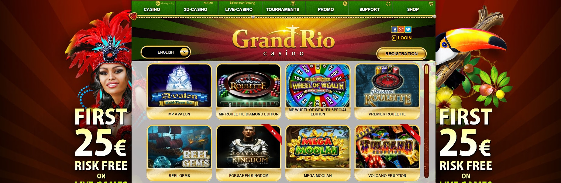 sign up and get free money casino