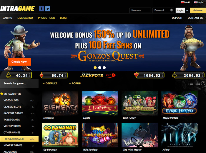 casino welcome bonus 300