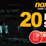 15 NO DEPOSIT FREE SPINS AT NOXWIN
