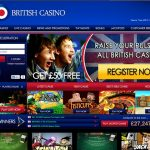 ALL BRITISH CASINO WELCOME BONUS – 100%