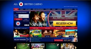all british casino welcome bonus