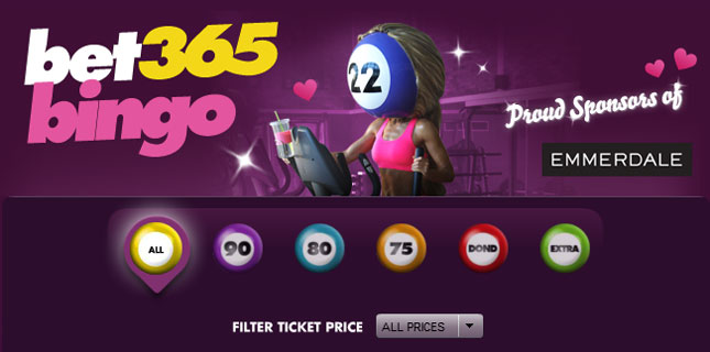 winter Wishlist bingo offer bet365