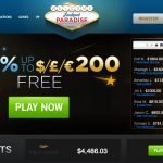 $£€800 WELCOME BONUS AT JACKPOT PARADISE