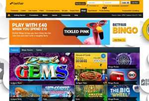 Christmas bingo promotion Betfair
