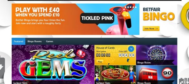 Welcome bingo bonus Betfair