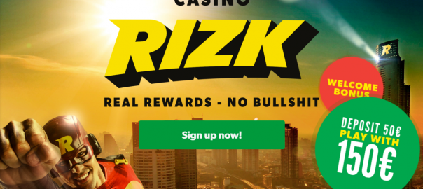 welcome bonus rizk casino