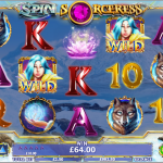 €12,000 Spin Sorceress Giveaway at Unibet