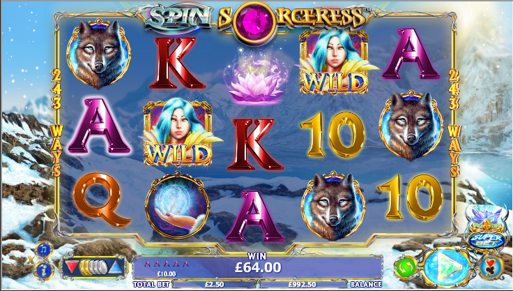 Unibet spin sorceress tournament