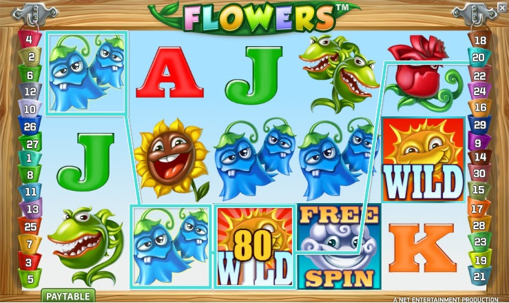 Flowers slot welcome bonus Noxwin