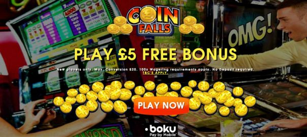 sign up bonus Coinfalls casino