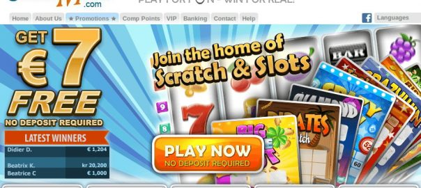 sign up bonus Scratchmania casino