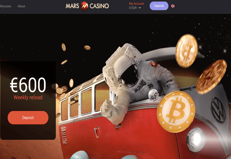 daily free spins mars casino