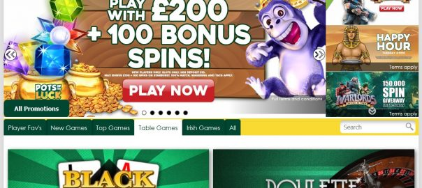 pots of luck casino welcome bonus
