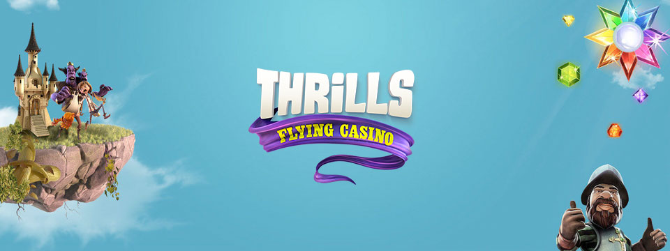 thrills casino welcome bonus