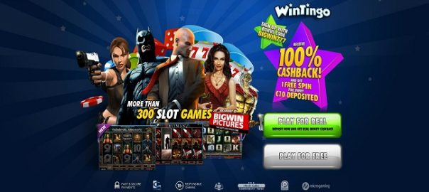 welcome casino bonus wintingo