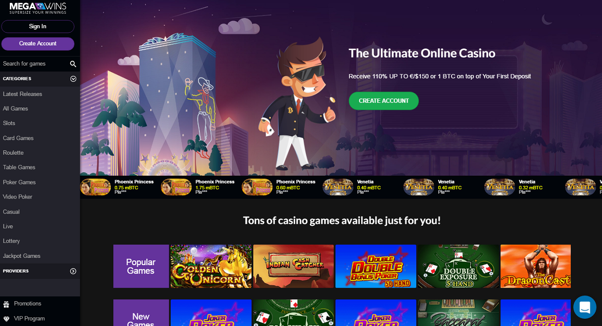 best casino sign up offer