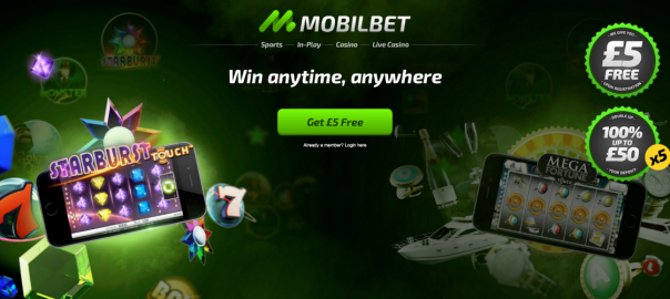 welcome bonus mobilebet casino
