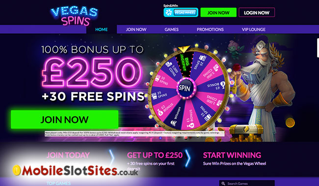 welcome bonus vegas spins casino