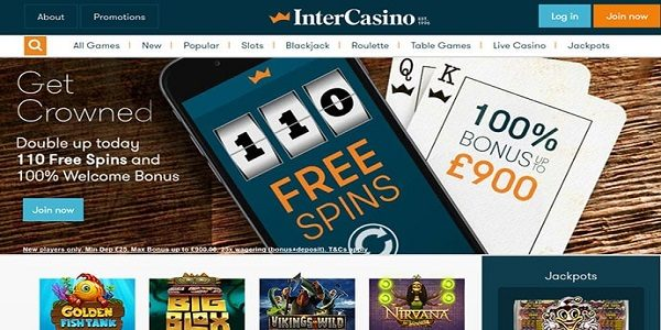 sign up free spins intercasino
