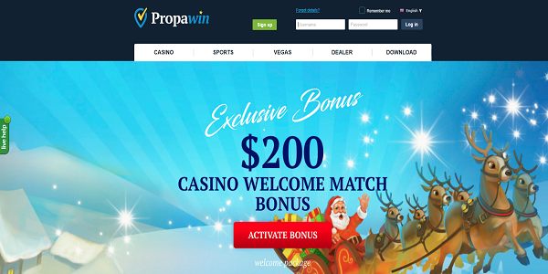 cash back bonus Propawin casino