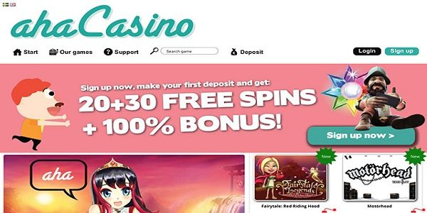 weekend free spins aha casino