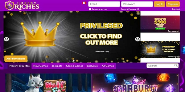 cheeky riches casino welcome bonus