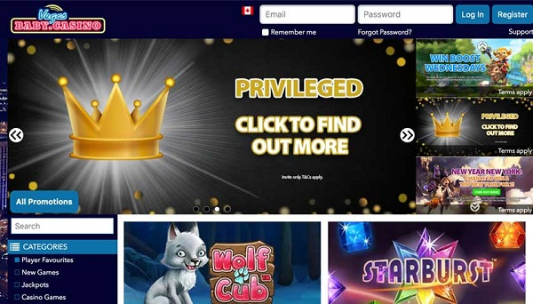 vegasbaby casino, welcome bonus,free spins