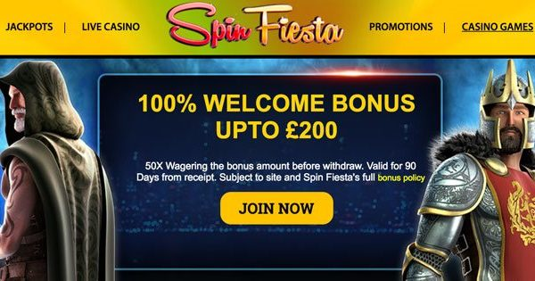 spin fiesta casino,welcome bonus